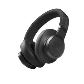 JBL Live 660NC - Black - WIRELESS OVER-EAR NC HEADPHONES - Hero